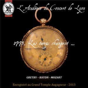 Bouton 1773 Les temps changent