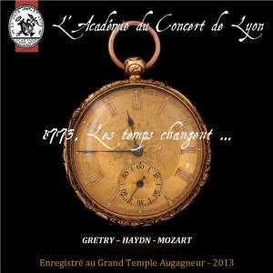 1773, les temps changent …