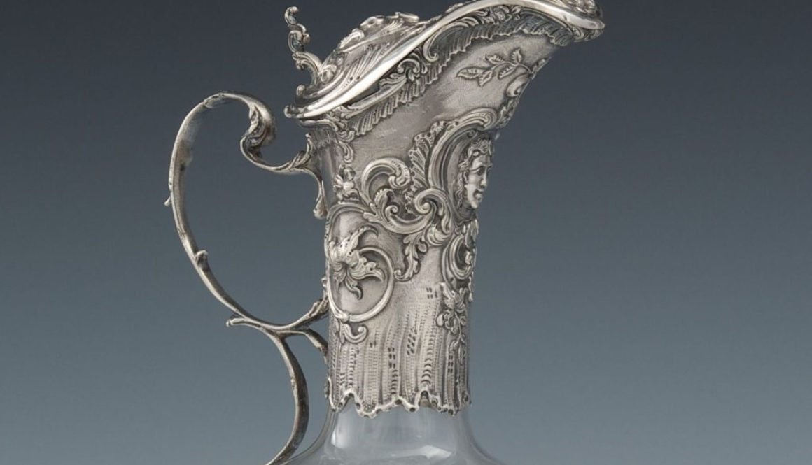Carafe en Christal Louis XIV 1 copie