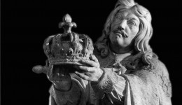 Louis XIII Sculpture rognée