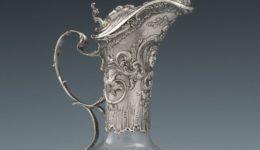 Carafe en Christal Louis XIV 1 copie